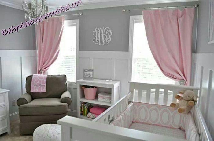 2019 yılının moda bebek odası