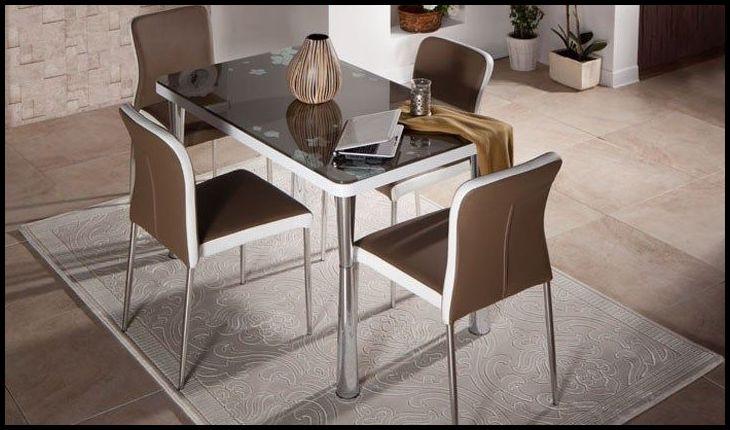 4 kişilik mutfak masası