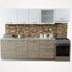450bb bursa rustik mese beyaz mutfak 2.70 cm