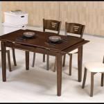 6 kişilik mutfak masası