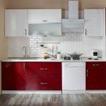 Koçtaş mobilya mutfak dolapları gül inci modeli