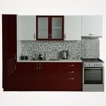 A12fe antalya pvc beyaz bordo mutfak 2.40 cm