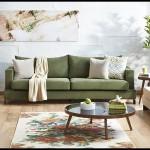 Kelebek mobilya yeşil oturma grubu modelleri
