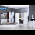 Kelebek mobilya yatak modelleri