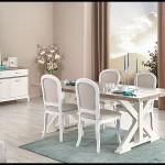 Kelebek mobilya yemek masa sandalye