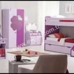 Kilim mobilya genç odası ranzalı