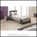 Tekzen genç odası yatak modeli