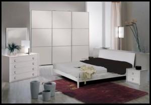 Tekzen yatak odası