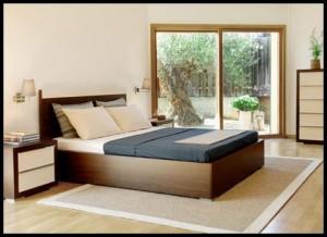Tekzen yatak odası modelleri