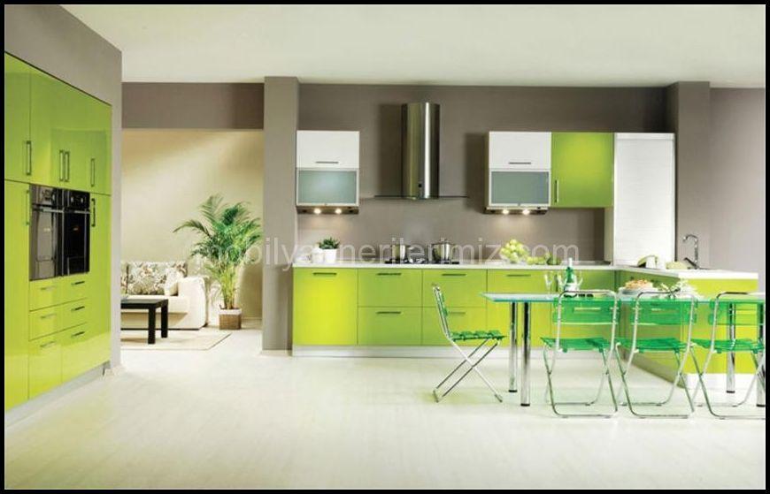 Hazır mutfak dolapları tasarımları