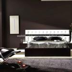 Modern deri kaplama yatak modelleri