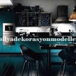Modern agresif mutfak tasarımları