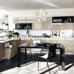 Modern parlak mutfak tasarimi