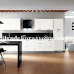 Modern siyah mutfak tasarimi