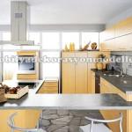 Sarı fransız mutfak dekorasyonları