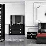 Karo modern yatak odası modeli