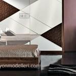 Keops desenli yatak odası takımı