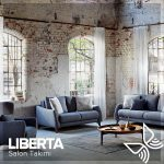Kelebek mobilya salon takımları libarta modeli