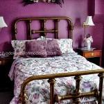 Mor yatak odasi modeli10