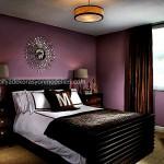Mor yatak odasi modeli7