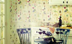 Mutfaklar İçin Duvar Kağıdı Örnekleri