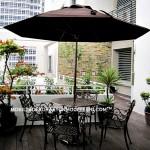Klasik yaz balkon dekorasyonları