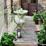 Yaz balkon dekorasyonu fikirleri