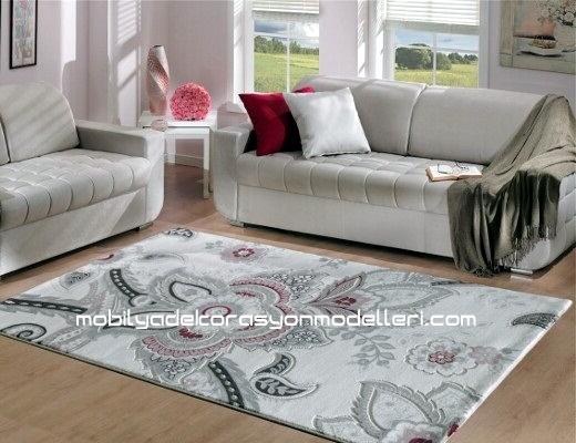 Kabartma desenli halı örnekleri