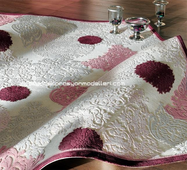 Kabartma halı motifleri