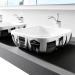 Desenli lavabo modelleri