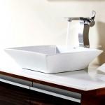 Köşeli banyo lavabo modelleri