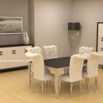 2020 ipek yemek odası modelleri