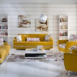 Istikbal mobilya sarı kanepe modelleri