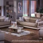 İstikbal mobilya koyu renkli koltuk takımlları