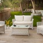 Bahçe mobilya dekorasyonları