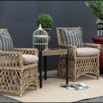 Rattan bahçe masa sandalye