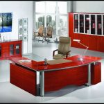 Kırmızı ofis dizaynı