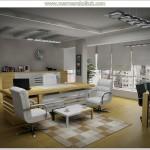 Ofis dekorasyon fikirleri