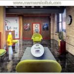 Renkli ofis ornekleri