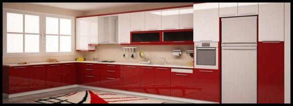 Bordo mutfak örnekleri