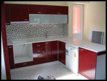 Bordo mutfak resimleri