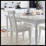 Ikea yemek masa sandalye