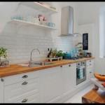 Mutfak fayansı beyaz renkli