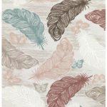 Merinos yaprak desenli halı bergama lux
