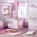 Çilek bebek odası dekorasyonu