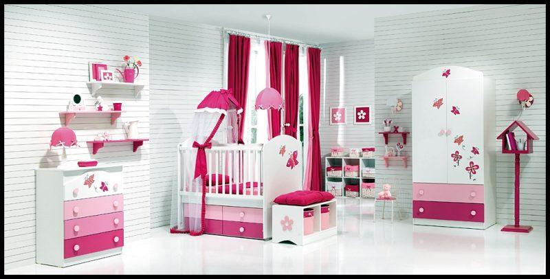 2020 bebek odası dekorasyonu modelleri