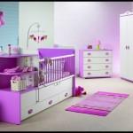 Bebek odası mor modeller