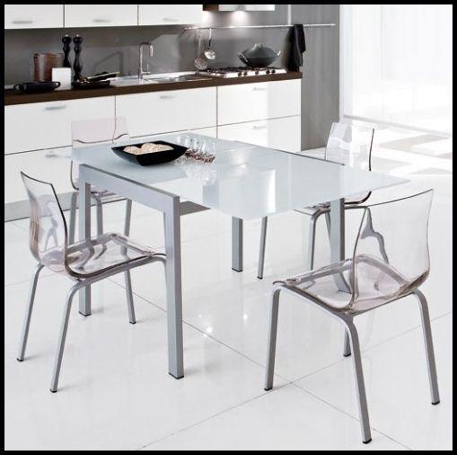 Takım Cam Mutfak Masası Modelleri