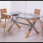 Cam mutfak masası modelleri
