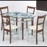 Modern Cam Mutfak Masası Modelleri